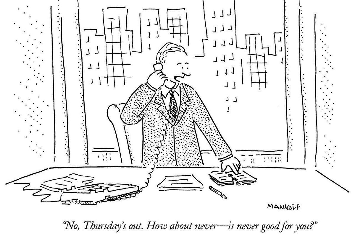 Someone did a statistical analysis of New Yorker cartoons