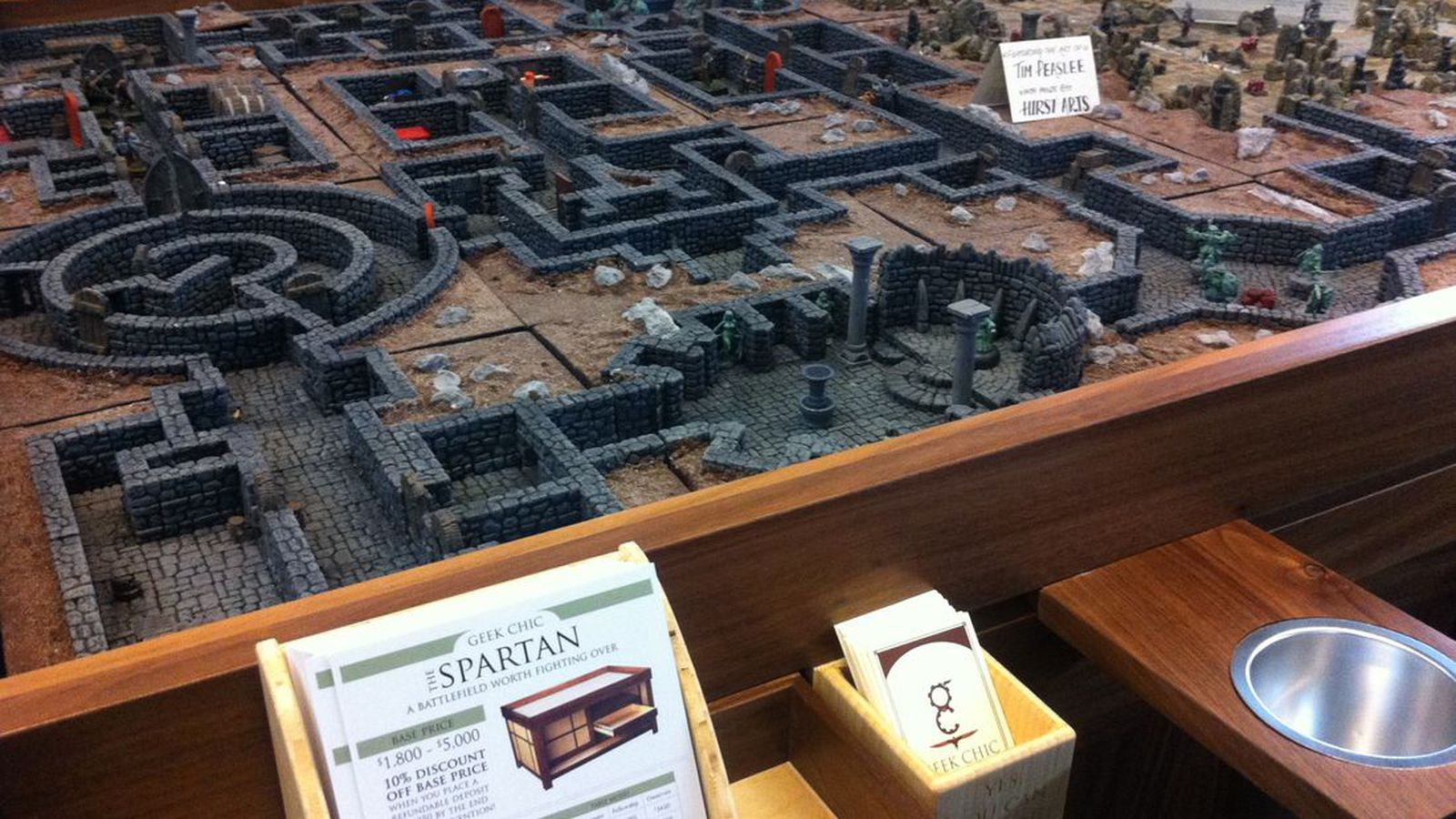 Geek Chic Gaming Tables Add 60 Inch Touchscreens To The