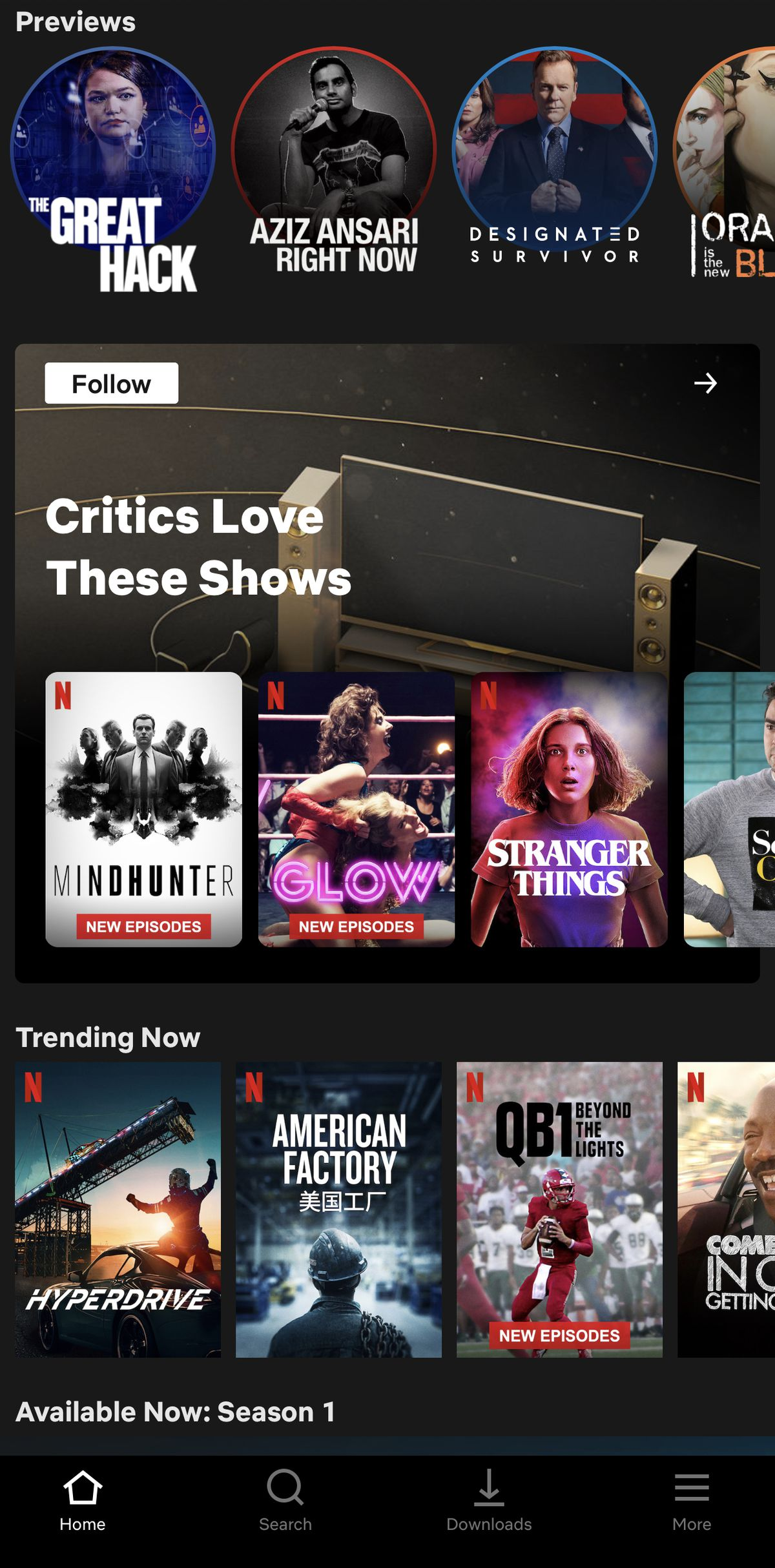 IMG 3804 - Netflix tests Collections that are curated by humans instead of algorithms