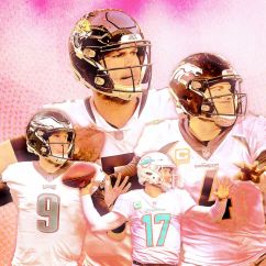 Cowboys Football Helmet Chair Cool Round Chairs Where Will Nick Foles Case Keenum And Other Available Qb S End Up Denver Started This Game Of Musical Who Be Left Standing