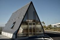 Tiny prefab A-frame home sets up in 6 hours - Curbed