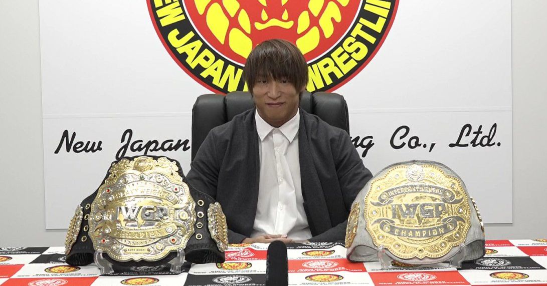 Ibushi's first defense is exactly who you think it is