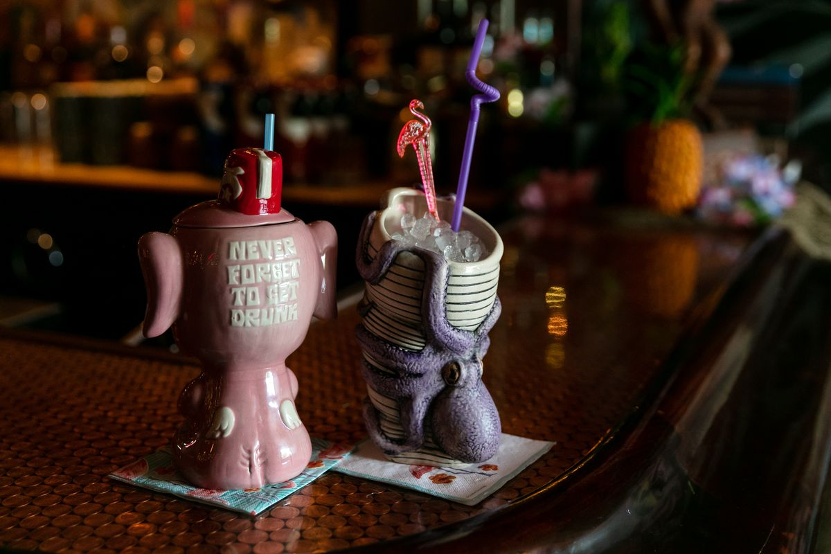 Look Inside Lost River A New Tiki Bar In Detroit Eater