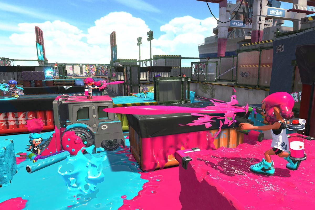 Nintendos Excellent Shooter Splatoon Is Even Better On