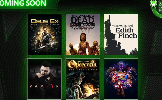 Xbox Game Pass Adds Six More Games To Its March Lineup