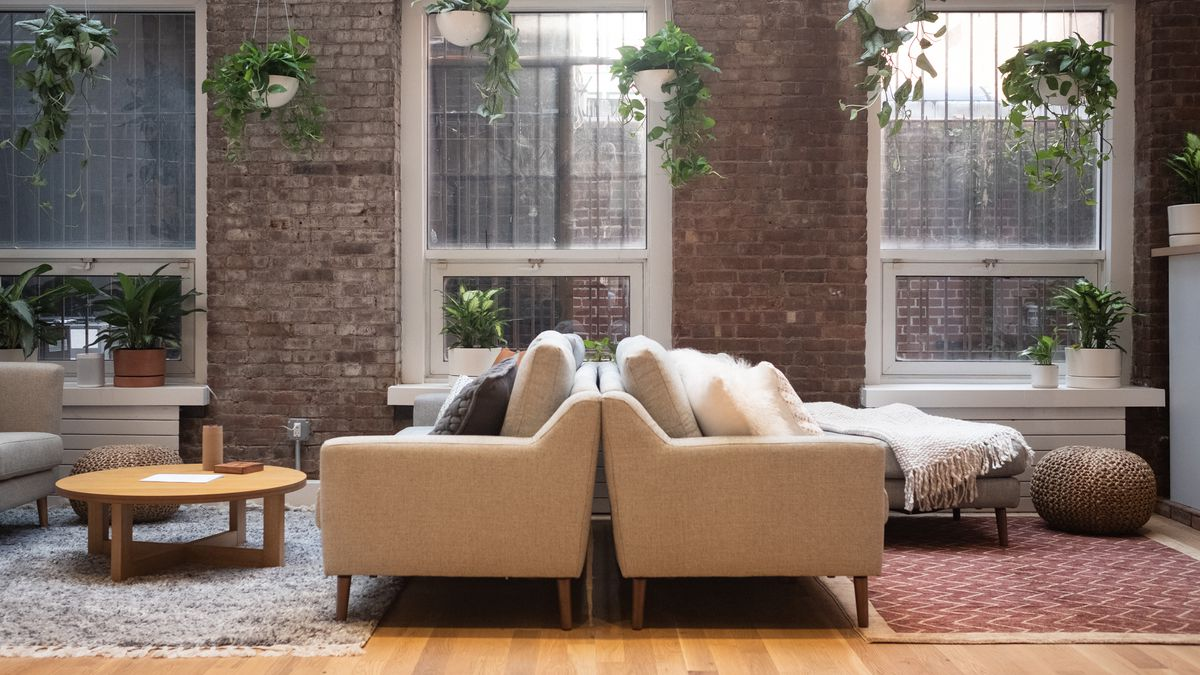 sectional sofas nyc showroom sleeper at rooms to go couch company burrow does experiential retail with a store for how do you sell in 2018