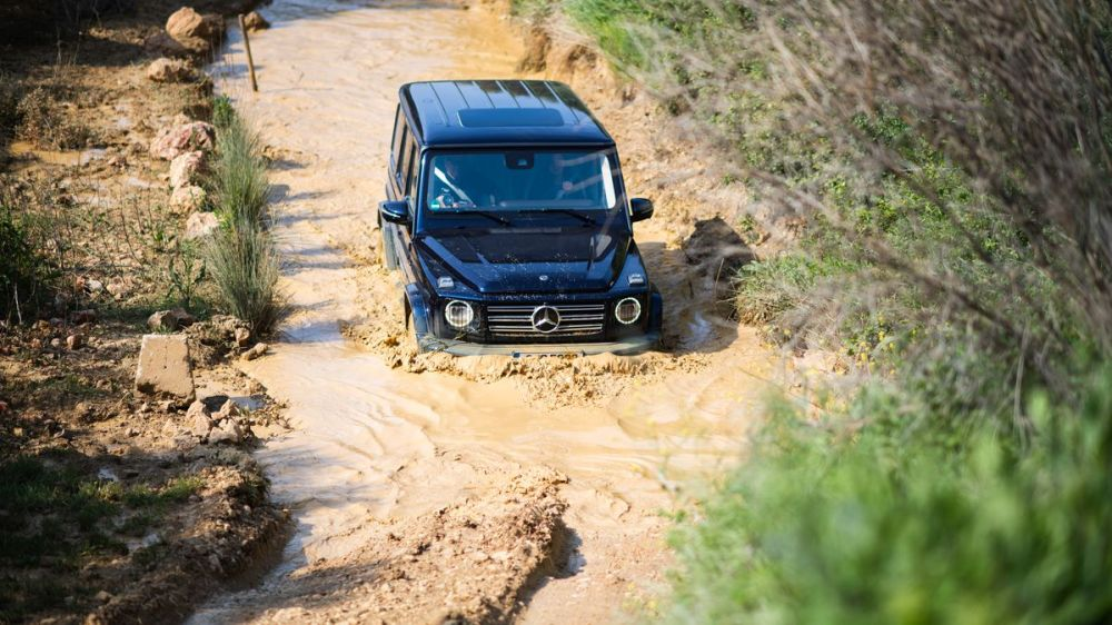 medium resolution of the 2019 mercedes g wagen is where past and present meet under the hood