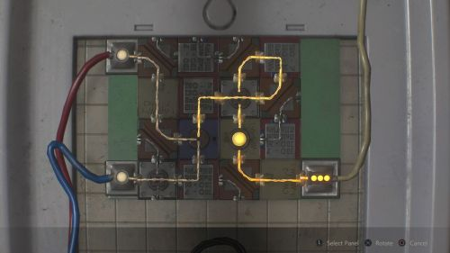 small resolution of resident evil 2 remake leon 2nd electronic part panel puzzle solution