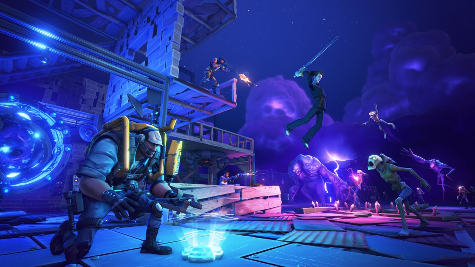 Fortnite Kicks Off Second Closed Alpha With A Livestream This Afternoon Polygon