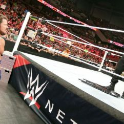 What Are Wwe Chairs Made Of High Backed Dining Uk Pros And Cons The May 9 Monday Night Raw At