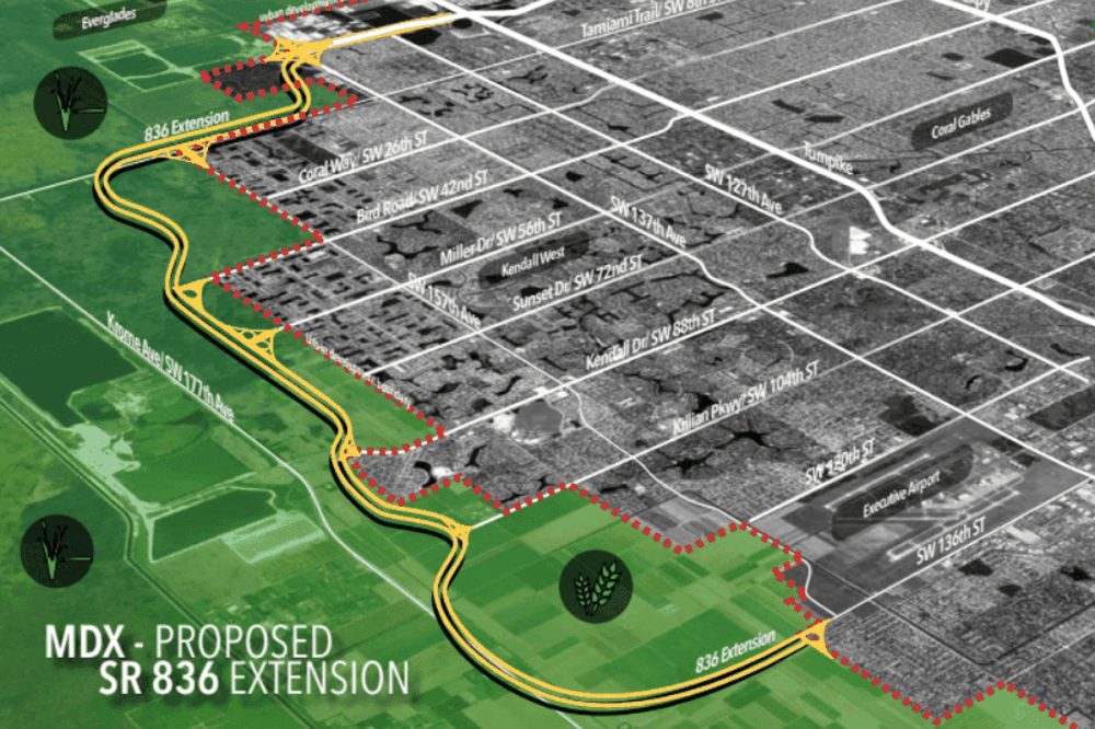 medium resolution of miami dade approves dolphin expressway extension through the everglades