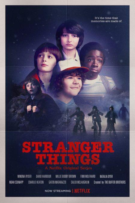 stranger things homage to 80s cinema