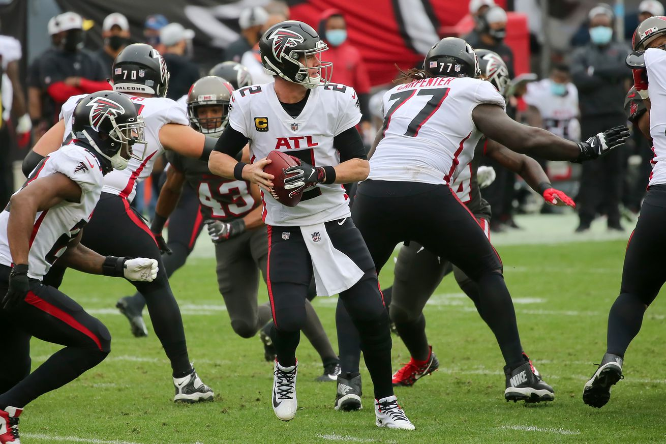 NFL: JAN 03 Falcons at Buccaneers