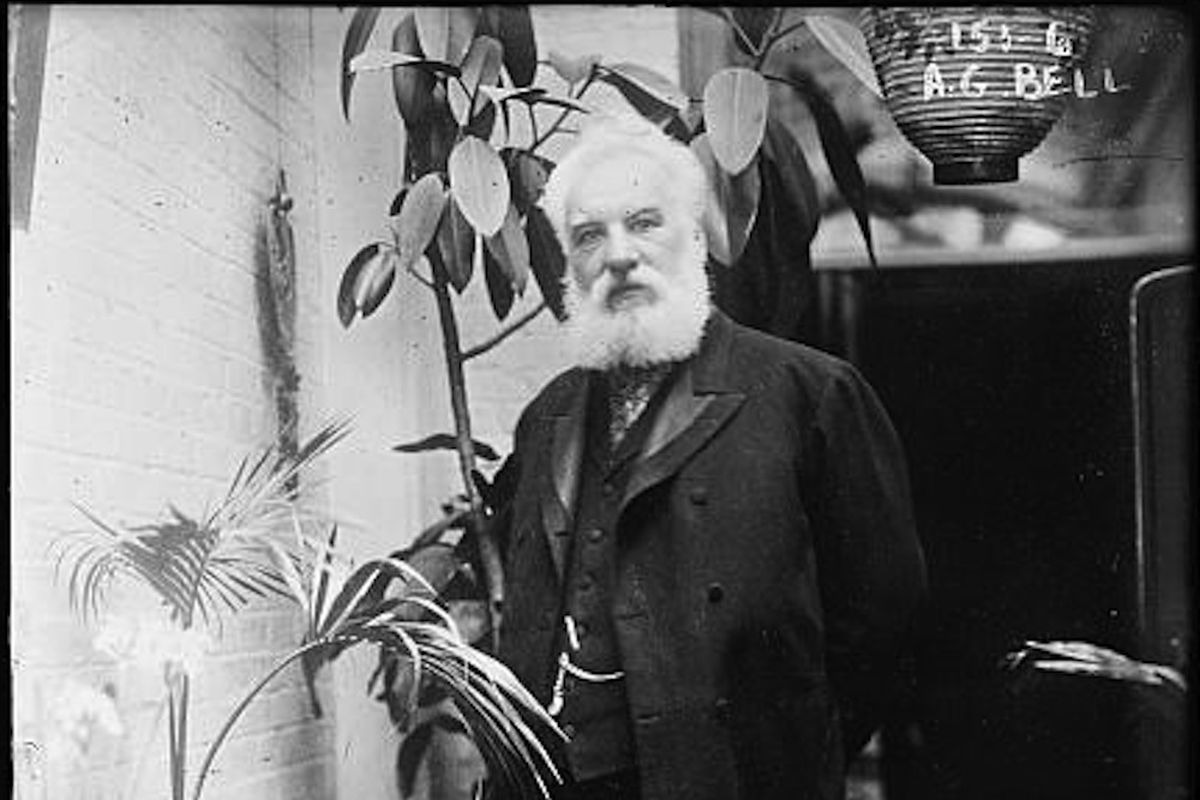Telephone Inventor Alexander Graham Bell S Voice Recovered