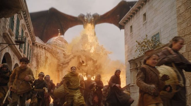 Game of Thrones S08E05 Dany murder