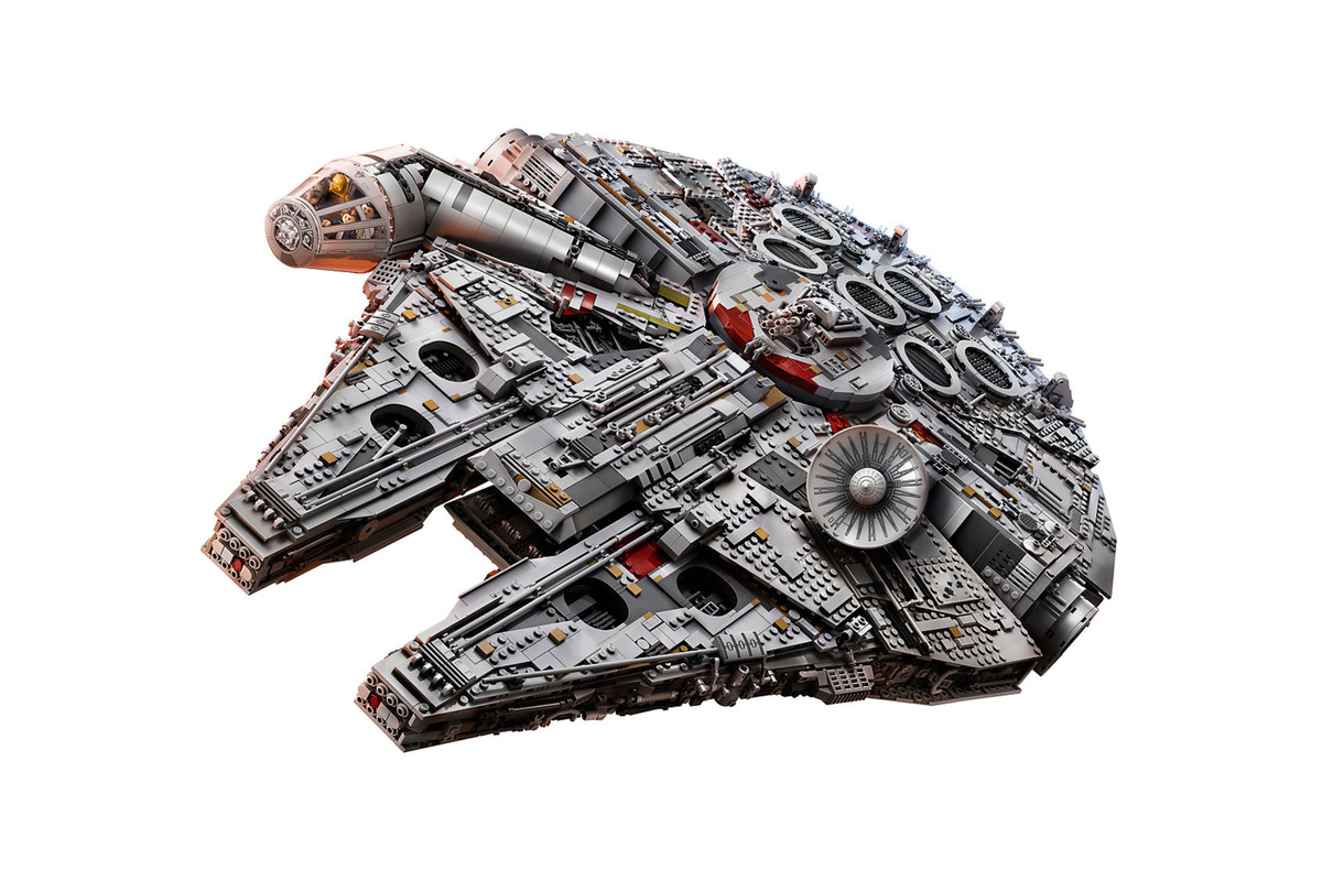 The New 7541 Piece Lego Millennium Falcon Is The Biggest
