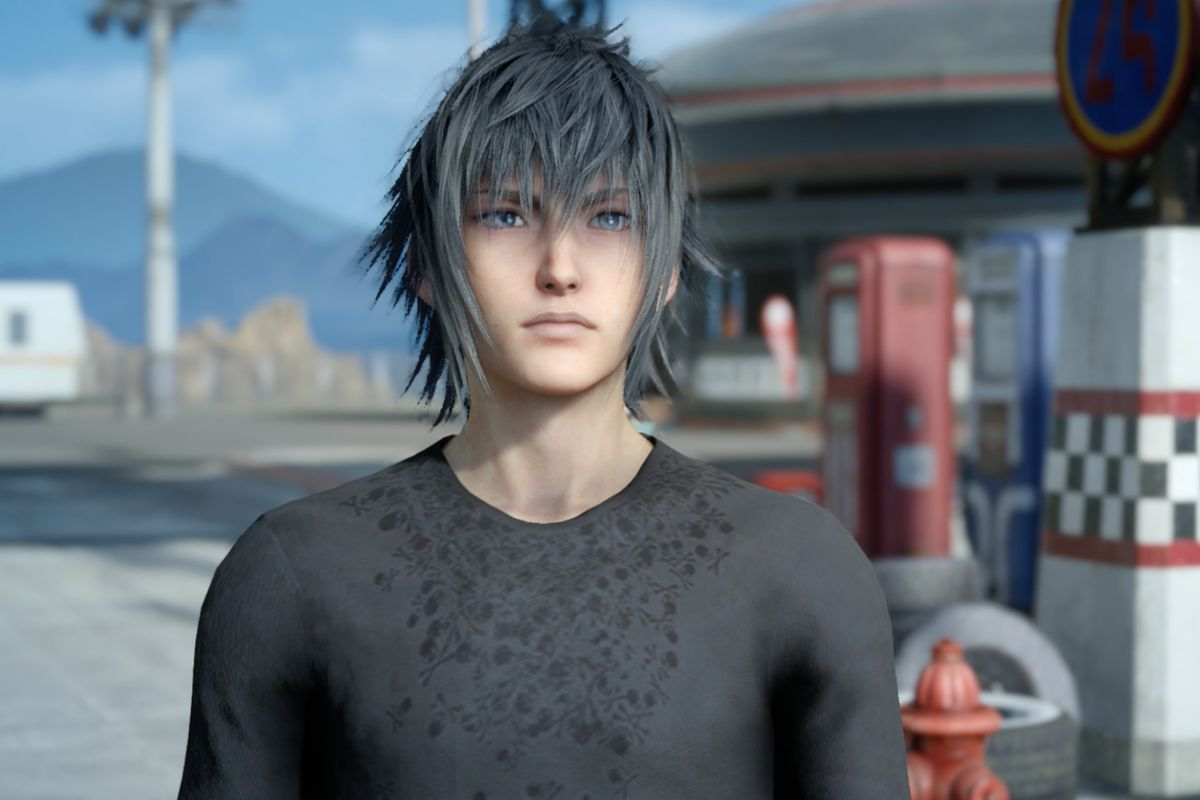 Anime Emo Boy Wallpaper Final Fantasy 15 S Lead Character Was Inspired By Kurt
