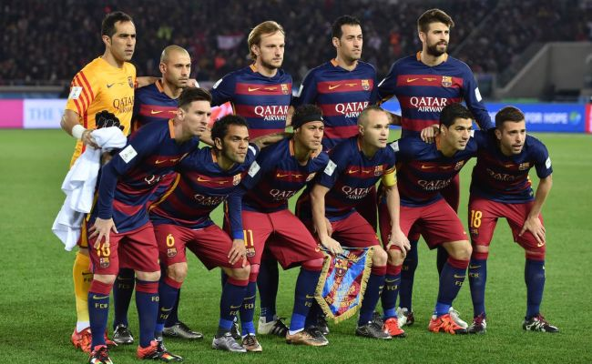 Fc Barcelona S Starting Xi Dominates Top 100 Players List
