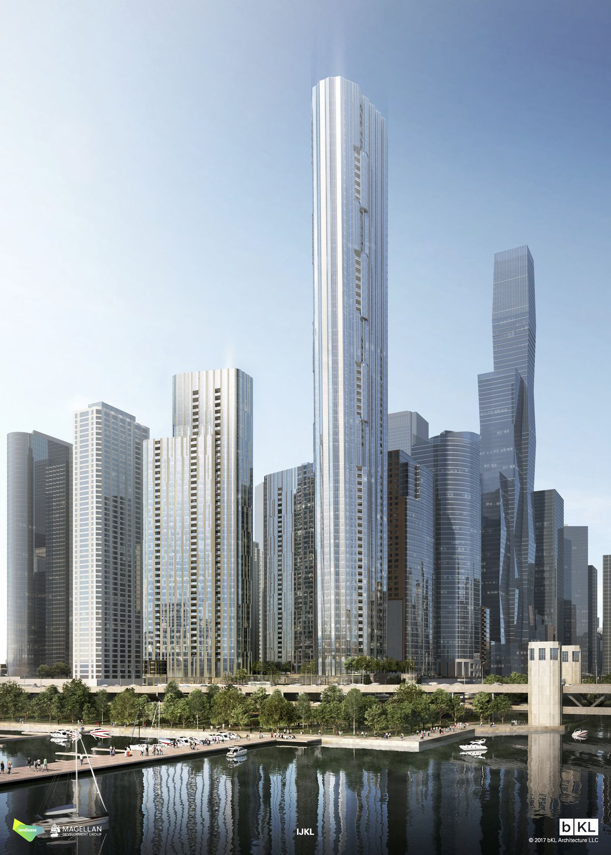 Proposed towers for Lakeshore East will deliver thousands of new residences - Curbed Chicago