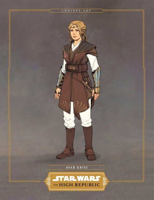 Avar Kriss design for Star Wars: The High Republic