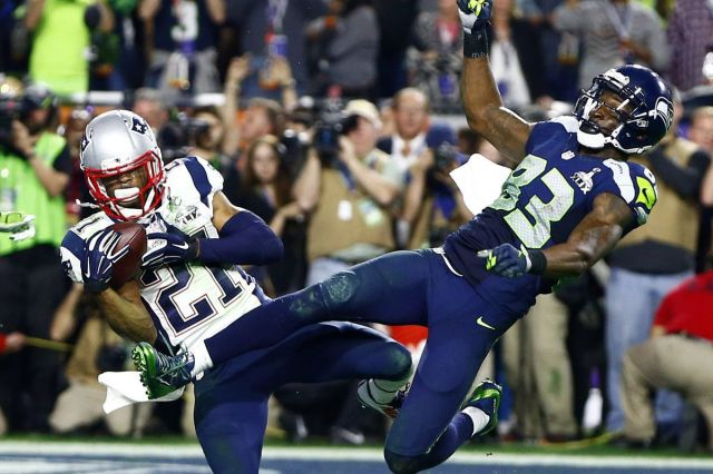 Image result for patriots vs seahawks