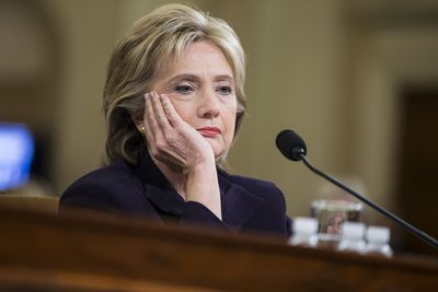 Hillary Clinton is over the Benghazi hearings.