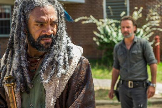 Image result for rick and ezekiel the walking dead