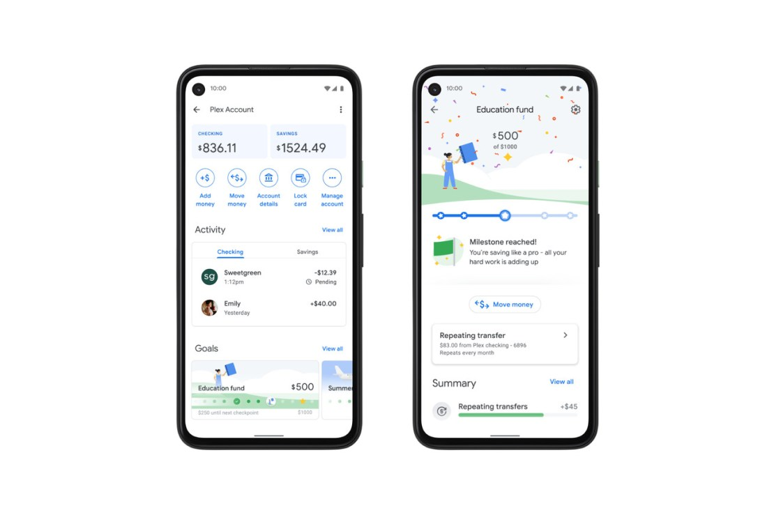 Google will let partners offer full online banking right inside the Google Pay app