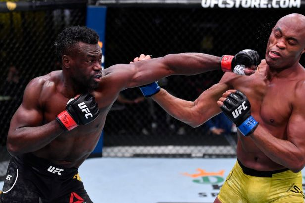 Uriah Hall emotional in victory after finishing Anderson Silva in UFC Vegas  12 main event - MMA Fighting
