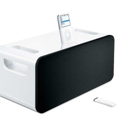 how to hook up your iphone with apple s vintage ipod hi fi speaker [ 1200 x 800 Pixel ]