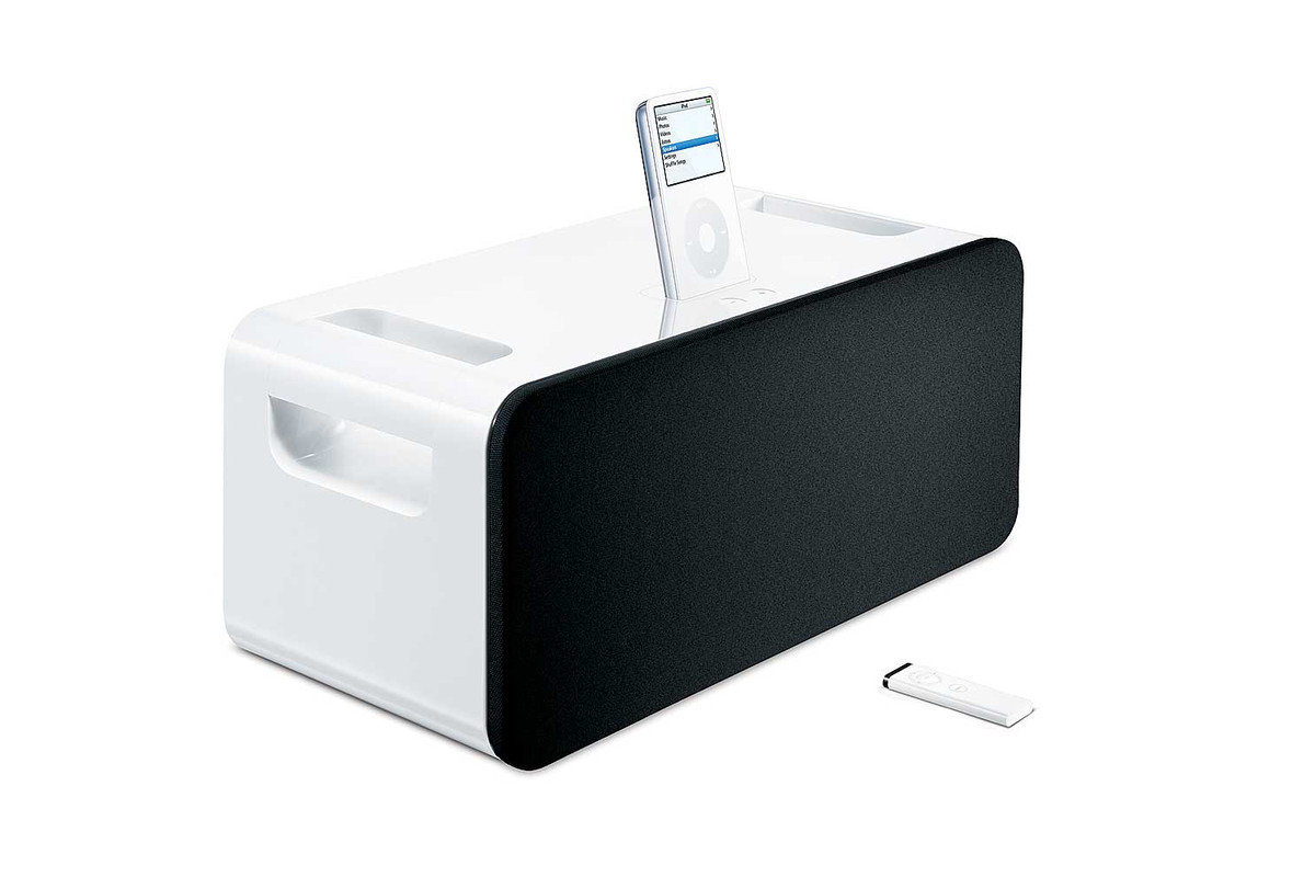 hight resolution of how to hook up your iphone with apple s vintage ipod hi fi speaker