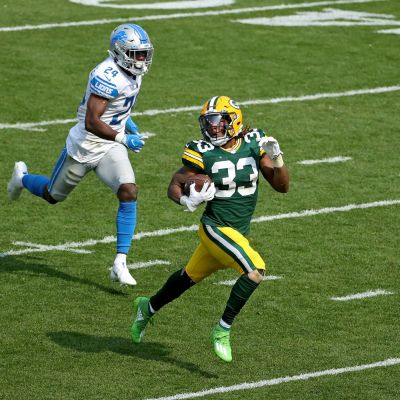 Packers shake off slow start to roll Lions 42-21 on career day for Aaron Jones - Acme Packing Company