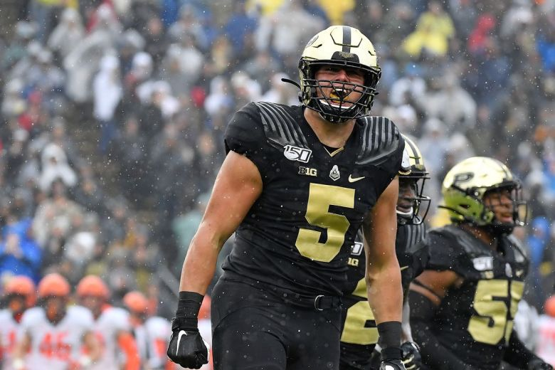 Purdue Football: NFL Draft - 2022 - George Karlaftis - Hammer and Rails