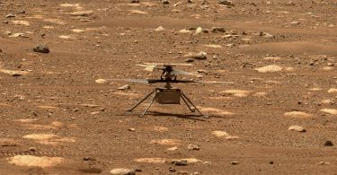 Watch the first footage of a helicopter on Mars