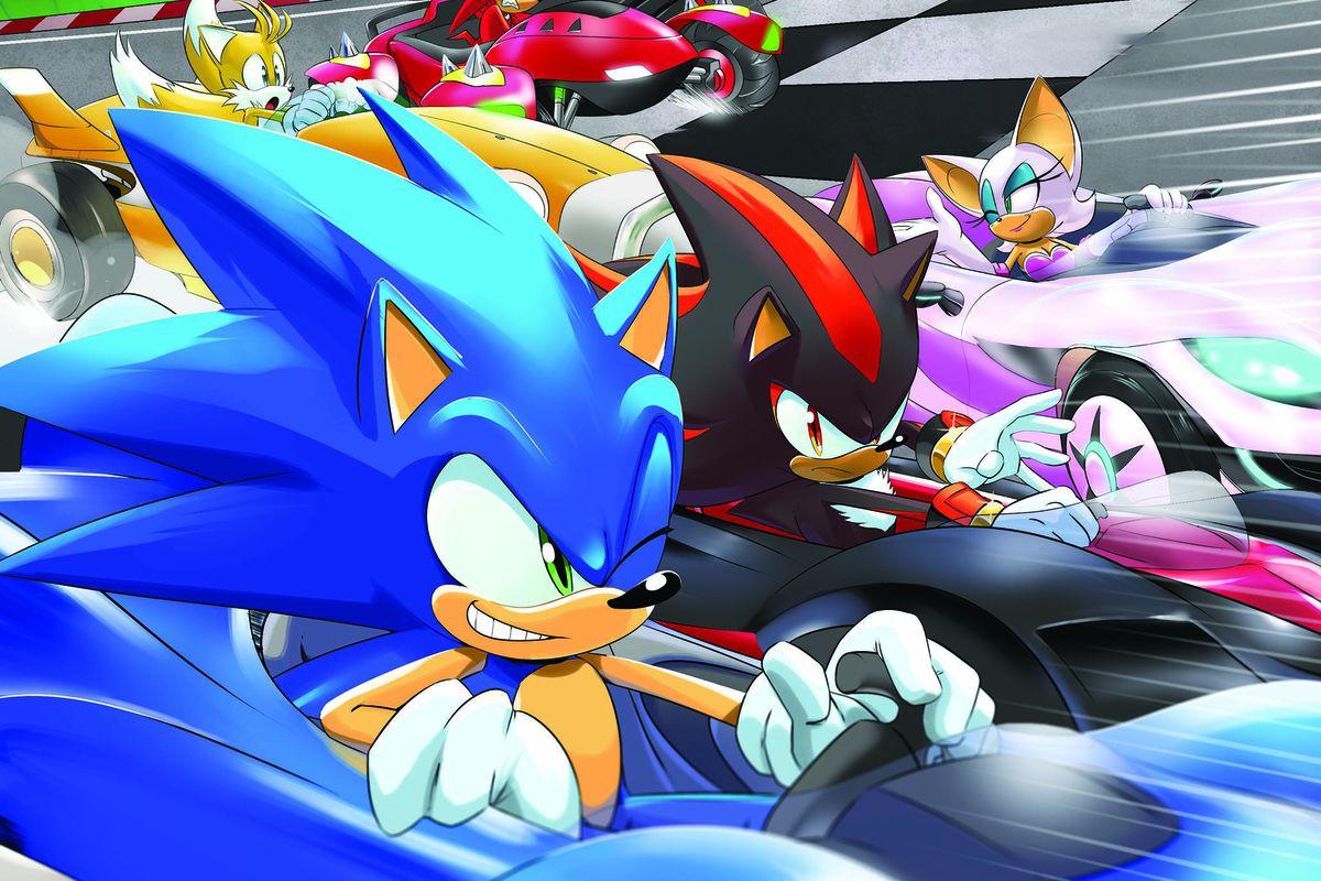 Fall Out Boy Wallpaper Mania Team Sonic Racing Comic Book Announced At San Diego Comic