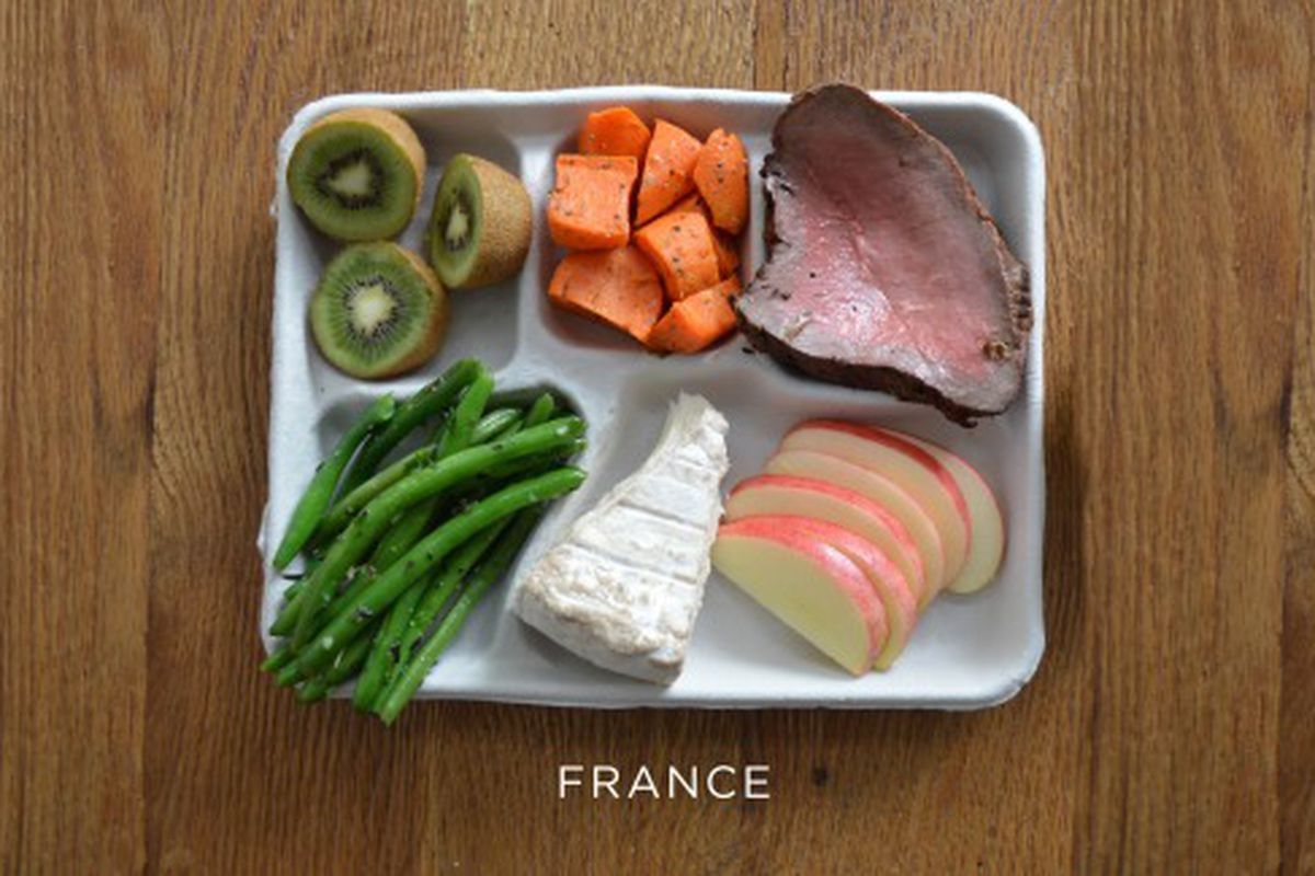 Here S What A Typical School Lunch In France Might Look