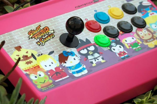 Mad Catz Crosses Street Fighter With Kitty