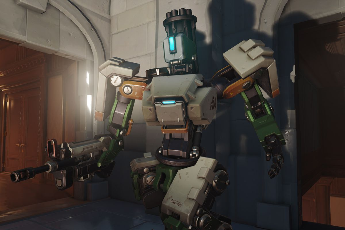 Big Changes For Overwatchs Bastion Are Here Polygon