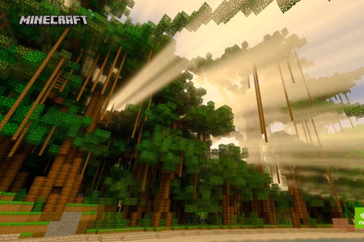 Minecraft's RTX-powered ray tracing arrives in beta later this ...