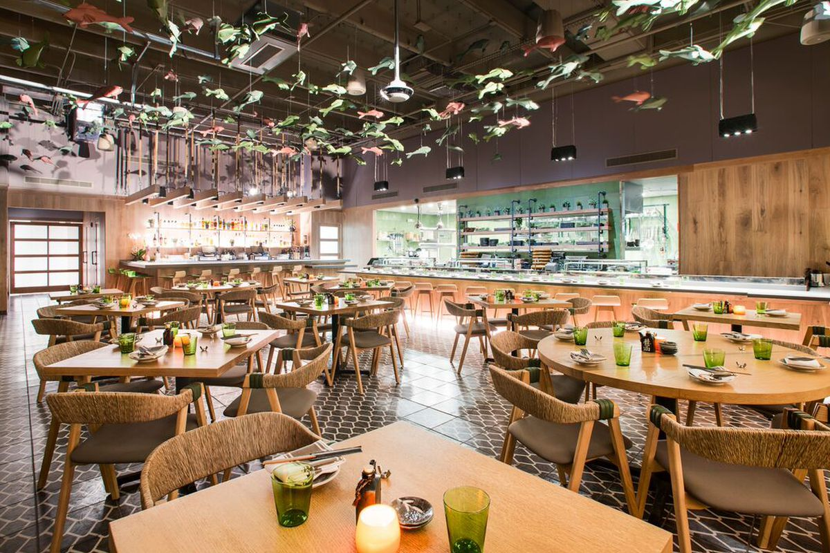 The Early Word on Sushi Garage  Eater Miami