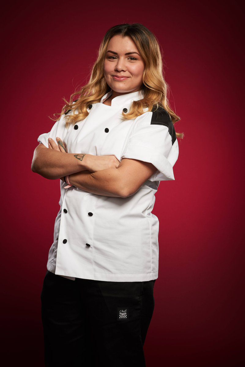 kitchen chief single bowl stainless steel sink who won hell s and the head chef job in las vegas eater michelle tribble is new at gordon ramsay