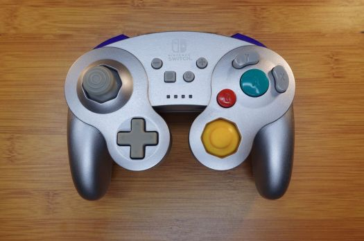 The PowerA Wireless GameCube controller