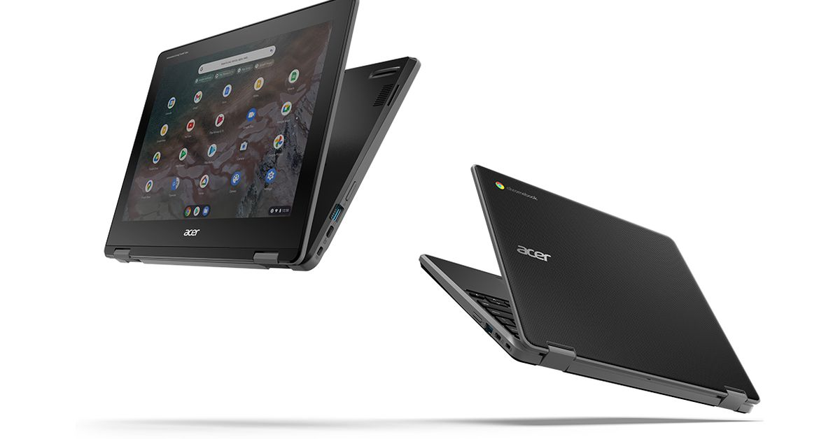 Acer's new education Chromebooks include durable designs and Arm-based processors