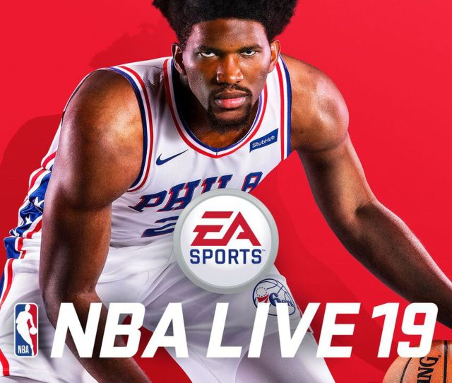 Joel Embiid Trusted The Process Onto The Nba Live 19 Cover Sbnation Com