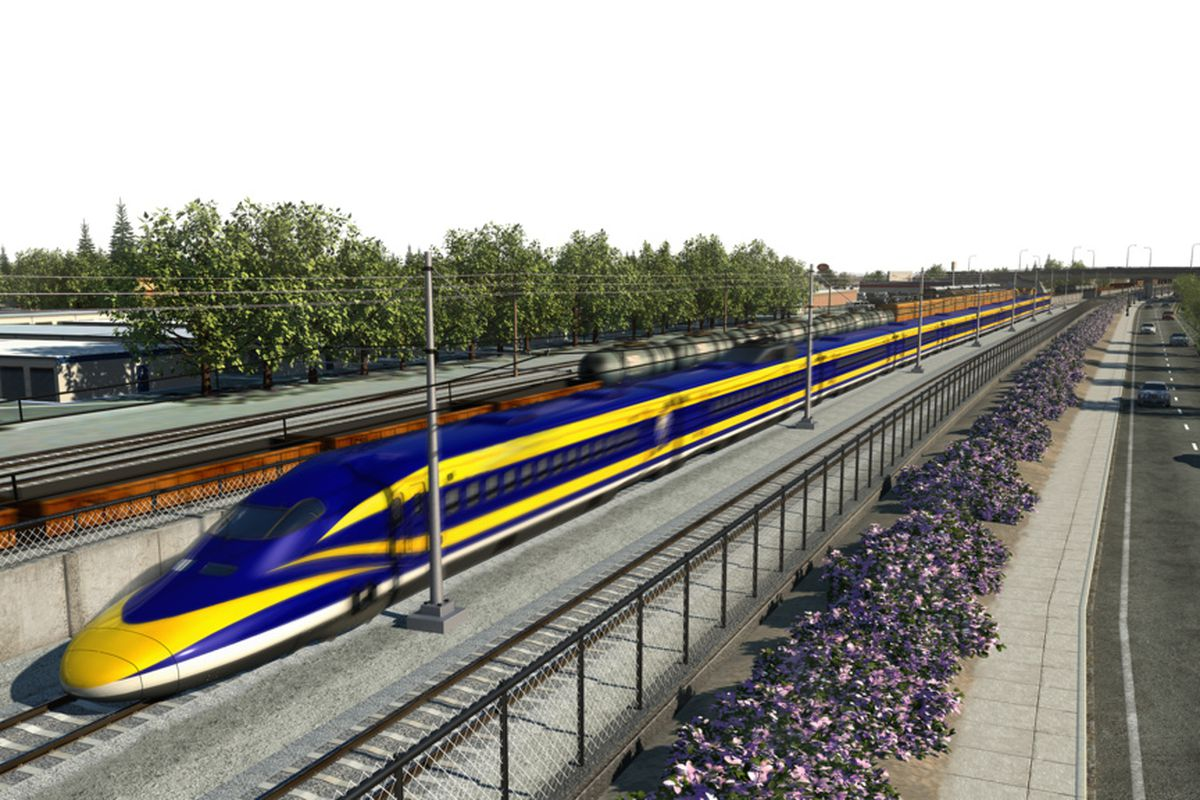 California S Bullet Train Is Delayed Three Years But Will