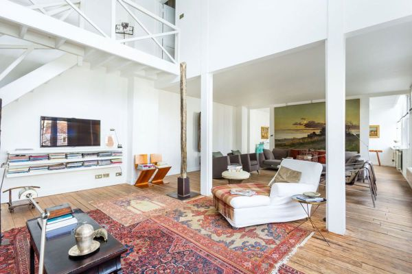 Paris Artist Studio With Loft Market 2.6m - Curbed