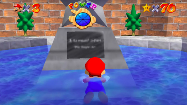 Screen_Shot_2020_09_16_at_11.59.42_AM.0 Super Mario 64's legendary sign is still blurry on Switch, here's why | Polygon