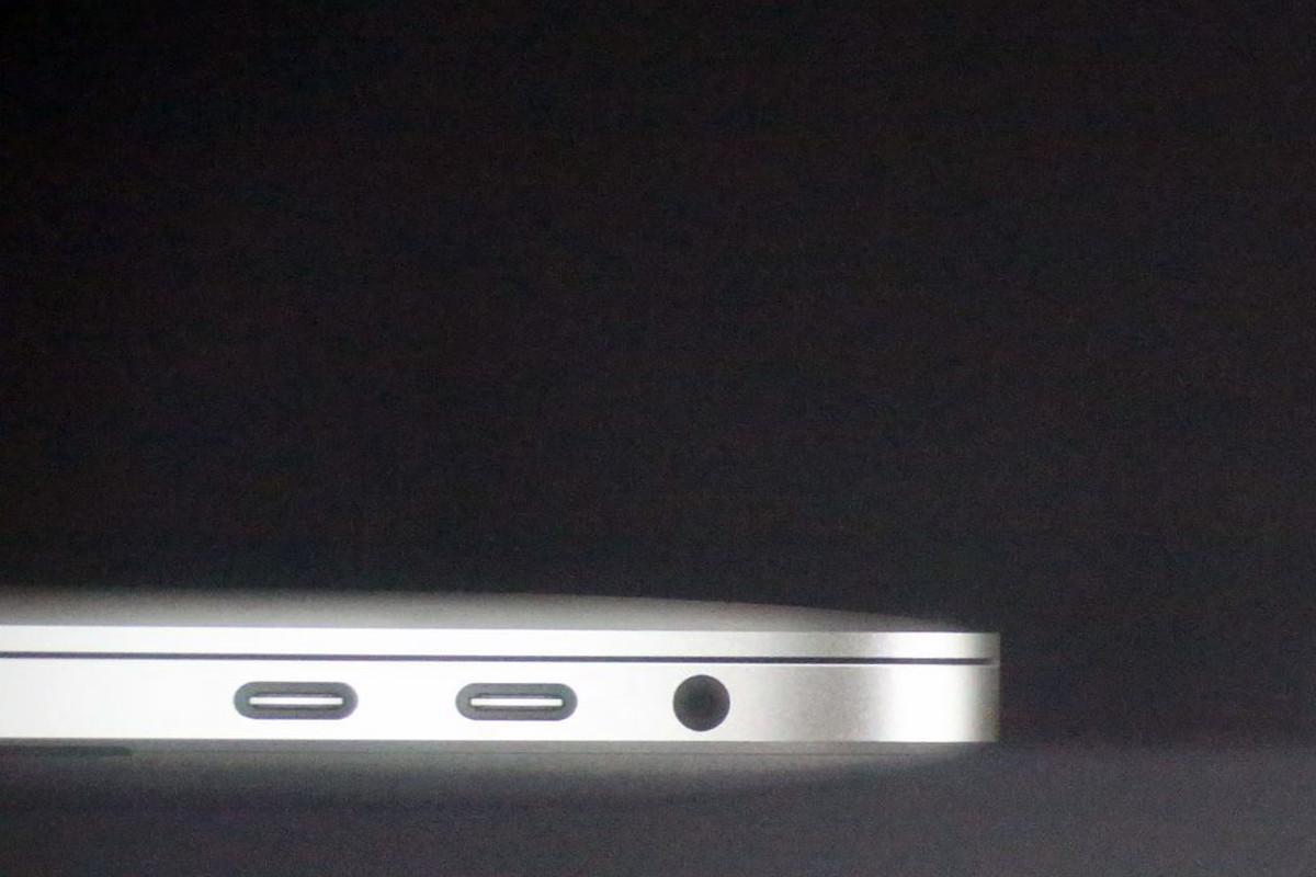 hight resolution of apple s new macbook pro has a headphone jack