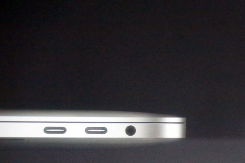 small resolution of apple s new macbook pro has a headphone jack