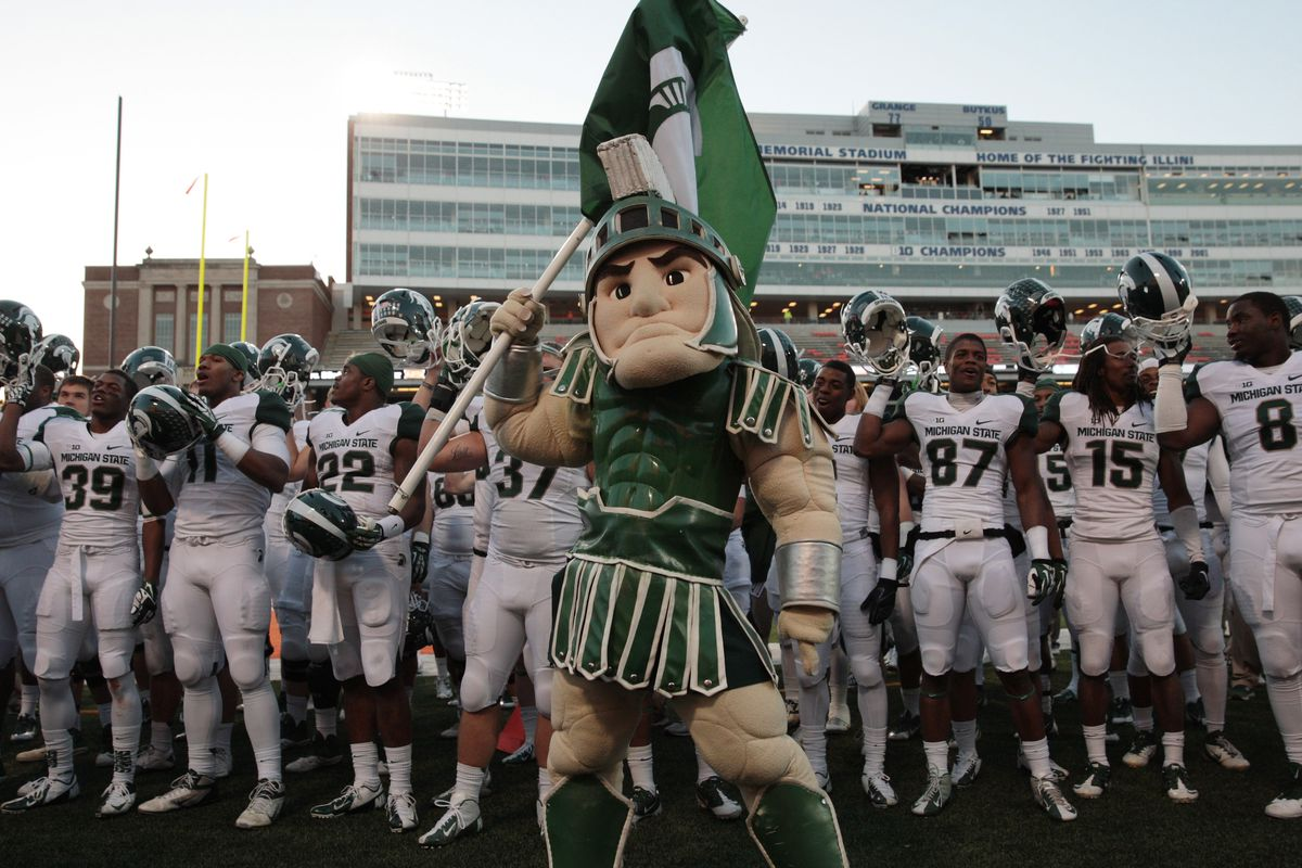Michigan State Spartans Football Welcome Aboard  2016 CB